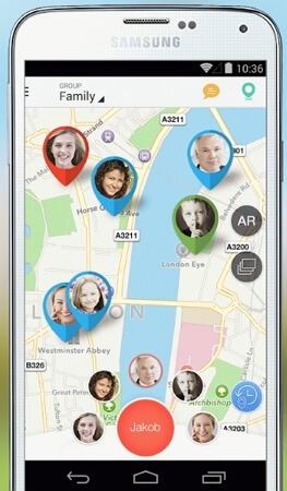 sygic family locator