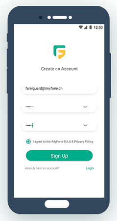 famiguard sign up