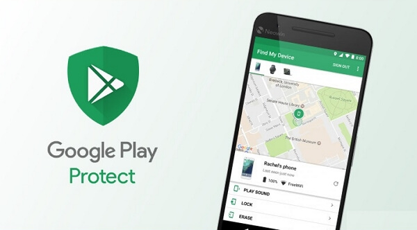 google find my  device app