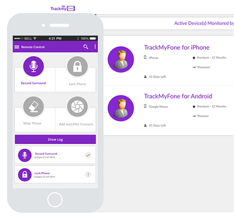 trackmyphone monitoring