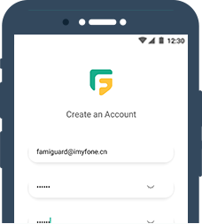 create  famiGuard account