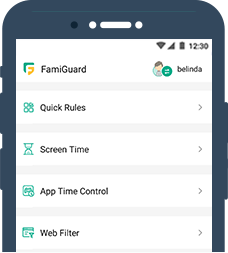 famiguard website filter
